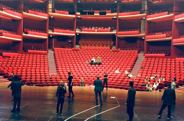 teatrul national sala mare