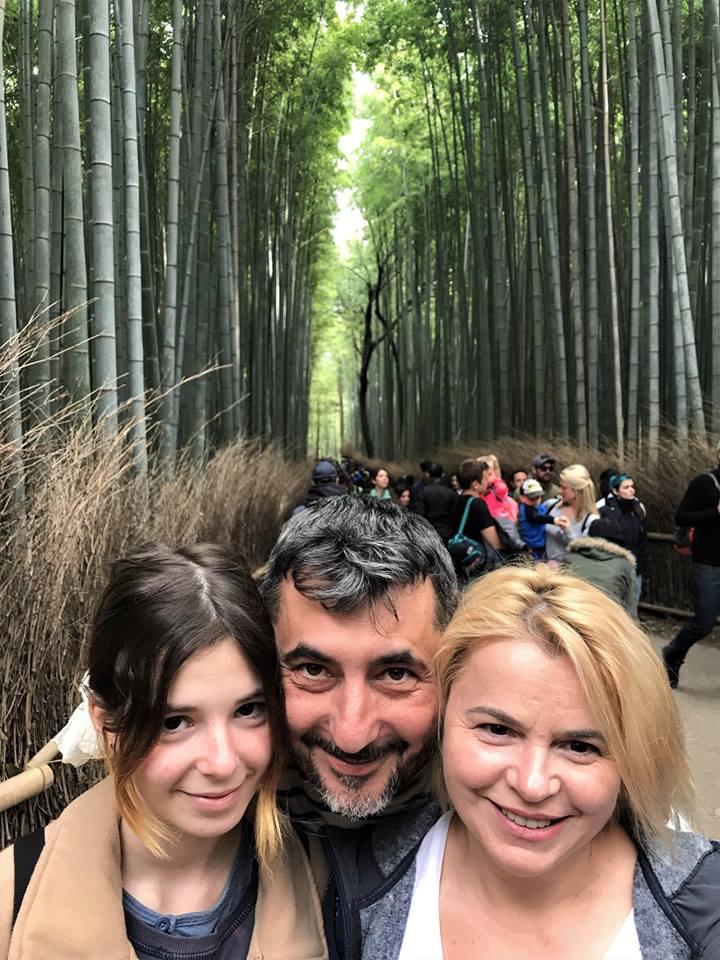 noi3 in Padurea de bambusi